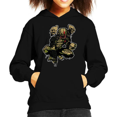 On The Prowl Predator Kid's Hooded Sweatshirt by AndreusD - Cloud City 7