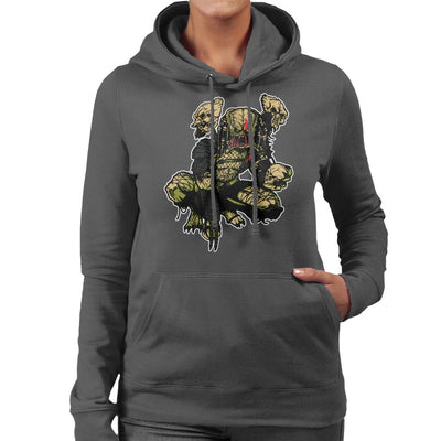 On The Prowl Predator Women's Hooded Sweatshirt by AndreusD - Cloud City 7
