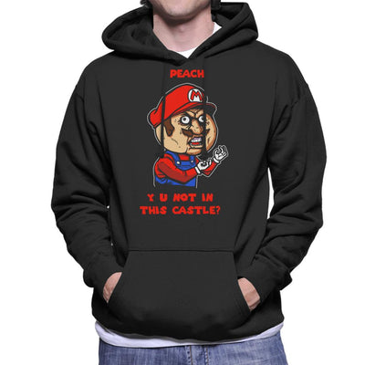 Plumber Meme Super Mario Bros Men's Hooded Sweatshirt by AndreusD - Cloud City 7