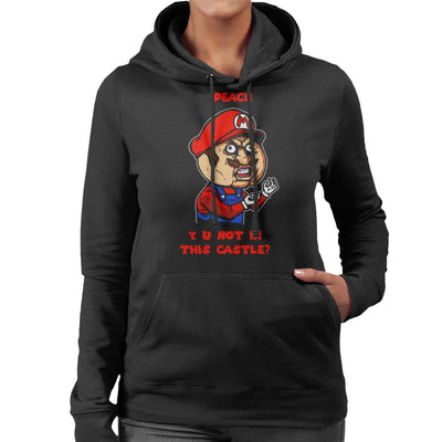 Plumber Meme Super Mario Bros Women's Hooded Sweatshirt by AndreusD - Cloud City 7