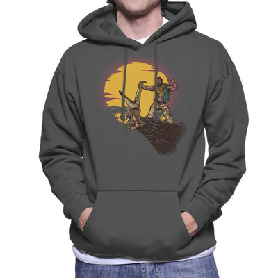 The A Team BA Baracus The Fool King Men's Hooded Sweatshirt by AndreusD - Cloud City 7