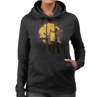The A Team BA Baracus The Fool King Women's Hooded Sweatshirt by AndreusD - Cloud City 7