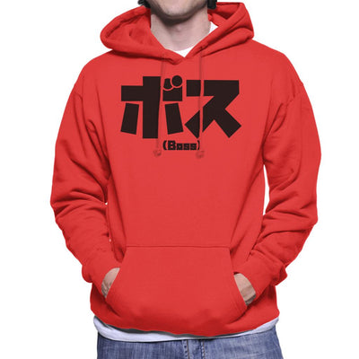 Boss Kanji Men's Hooded Sweatshirt by PsychoDelicia - Cloud City 7
