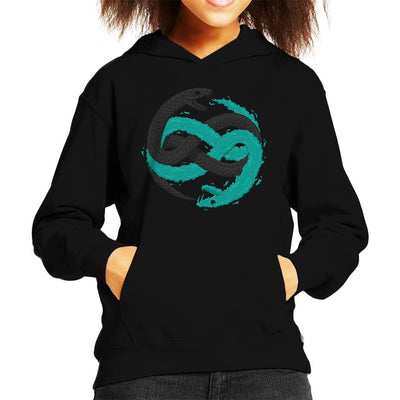Metal Gear Solid Twin Snakes Kid's Hooded Sweatshirt by One Legged Kiwi - Cloud City 7