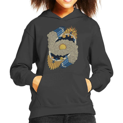 Tardis Space Travel Doctor Who Kid's Hooded Sweatshirt by One Legged Kiwi - Cloud City 7