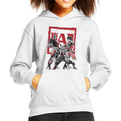 My Heroes Sumi E My Hero Academia Kid's Hooded Sweatshirt by Dr.Monekers - Cloud City 7