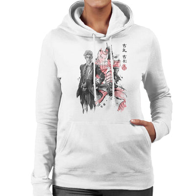 Killer Queen Sumie Jojos Bizarre Adventure Women's Hooded Sweatshirt by Dr.Monekers - Cloud City 7