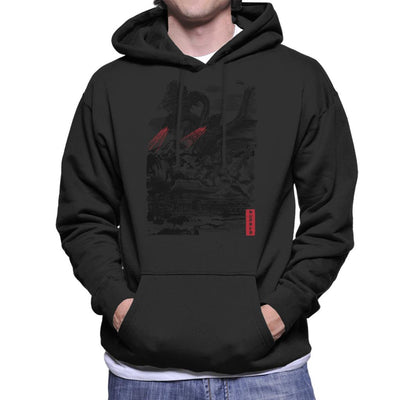 The Rise Of The King Of Terror Ghidorah Men's Hooded Sweatshirt by Dr.Monekers - Cloud City 7