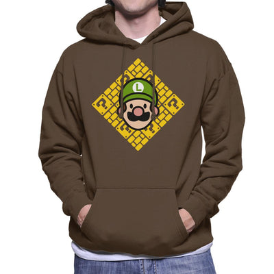 Its A Me Chibi Luigi Super Mario Men's Hooded Sweatshirt by Evasinmas - Cloud City 7