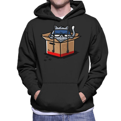 Snake Cat Metal Gear Solid Men's Hooded Sweatshirt by Evasinmas - Cloud City 7