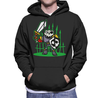 Sir Daniel Fortesque MediEvil Men's Hooded Sweatshirt by Evasinmas - Cloud City 7