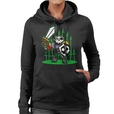 Sir Daniel Fortesque MediEvil Women's Hooded Sweatshirt by Evasinmas - Cloud City 7