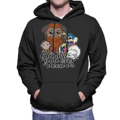 Should You Ever Need Us Labyrinth Men's Hooded Sweatshirt by TopNotchy - Cloud City 7