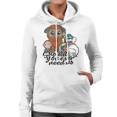 Should You Ever Need Us Labyrinth Women's Hooded Sweatshirt by TopNotchy - Cloud City 7