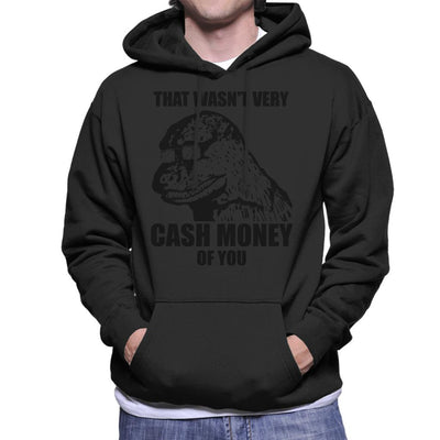 That Wasnt Very Cash Money Of You Meme Black Text Men's Hooded Sweatshirt by BrotherOfPerl - Cloud City 7