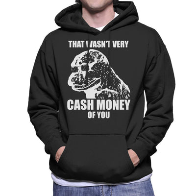 That Wasnt Very Cash Money Of You Meme White Text Men's Hooded Sweatshirt by BrotherOfPerl - Cloud City 7
