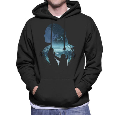 Arya Night King Silhouette Game Of Thrones Men's Hooded Sweatshirt by dandingeroz - Cloud City 7
