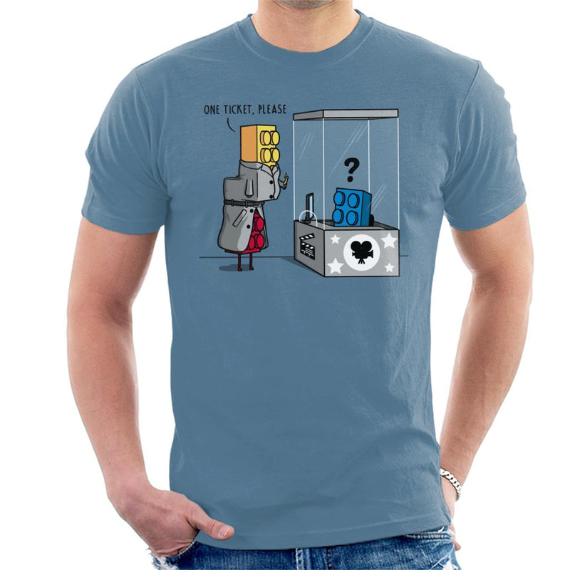 Movie Day Toy Blocks Men's T-Shirt by Raffiti - Cloud City 7