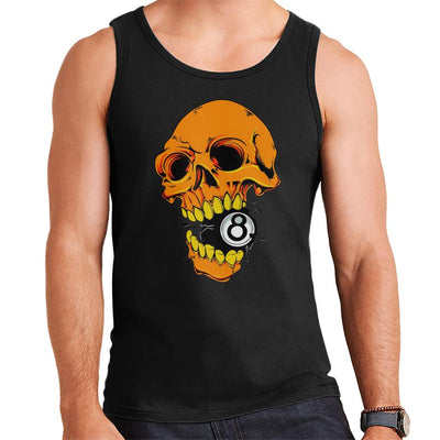Eight Ball Skull Men's Vest