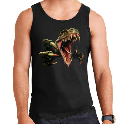 Ancient Velociraptor Men's Vest