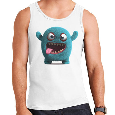Blue Furry Monster Men's Vest
