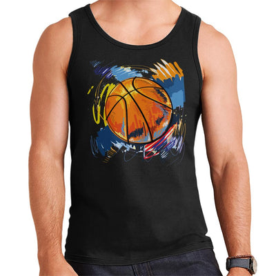 Basketball Graffiti Men's Vest