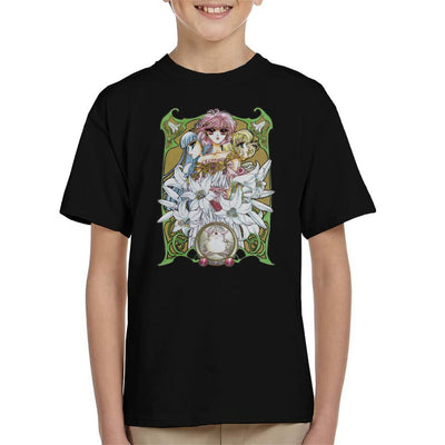 Magic Knight Rayearth Flower Montage Kid's T-Shirt