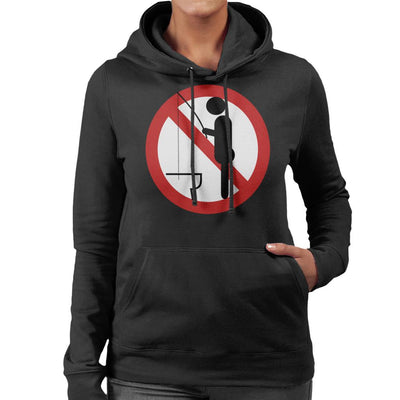 Do Not Fish Women's Hooded Sweatshirt by crbndesign - Cloud City 7