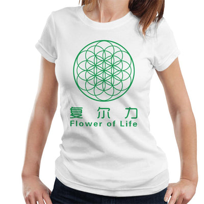 Flower Of Life Symbol Women's T-Shirt by crbndesign - Cloud City 7