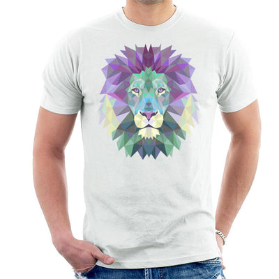 Fractal Lion Men's T-Shirt by crbndesign - Cloud City 7