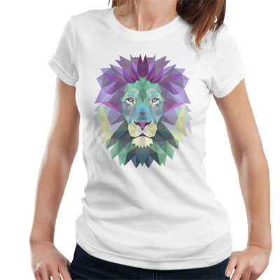 Fractal Lion Women's T-Shirt by crbndesign - Cloud City 7