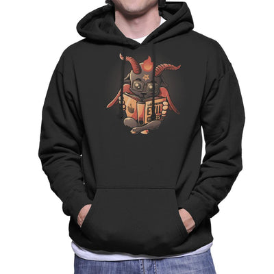 Learning Evil Cute Baphomet Men's Hooded Sweatshirt by eduely - Cloud City 7
