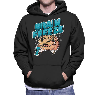 Brain Freeze Men's Hooded Sweatshirt by eduely - Cloud City 7