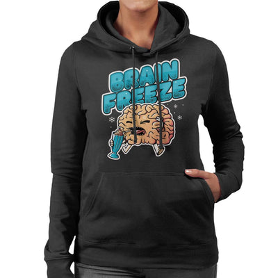 Brain Freeze Women's Hooded Sweatshirt by eduely - Cloud City 7