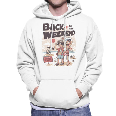 Back To The Weekend Men's Hooded Sweatshirt by eduely - Cloud City 7