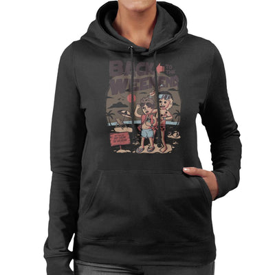 Back To The Weekend Women's Hooded Sweatshirt by eduely - Cloud City 7