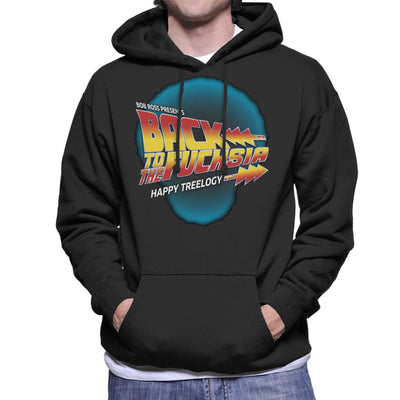 Back To The Fuchsia Men's Hooded Sweatshirt by GrimWear - Cloud City 7