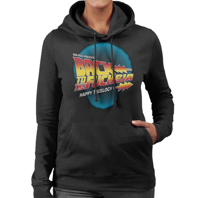 Back To The Fuchsia Women's Hooded Sweatshirt by GrimWear - Cloud City 7