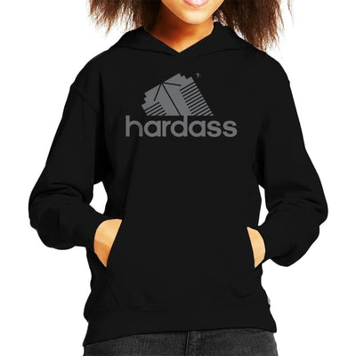 Hardass Kid's Hooded Sweatshirt by GrimWear - Cloud City 7
