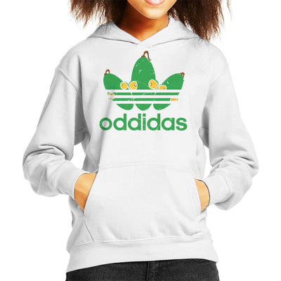 Oddidas Abes Odyssey Sports Logo Kid's Hooded Sweatshirt by GrimWear - Cloud City 7