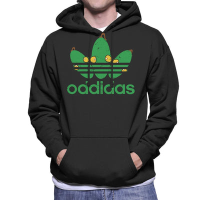 Oddidas Abes Odyssey Sports Logo Men's Hooded Sweatshirt by GrimWear - Cloud City 7