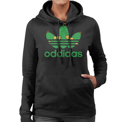 Oddidas Abes Odyssey Sports Logo Women's Hooded Sweatshirt by GrimWear - Cloud City 7