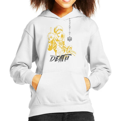 Trafalgar Law Death One Piece Kid's Hooded Sweatshirt by Jelly89 - Cloud City 7