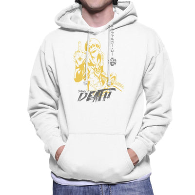 Trafalgar Law Death One Piece Men's Hooded Sweatshirt by Jelly89 - Cloud City 7