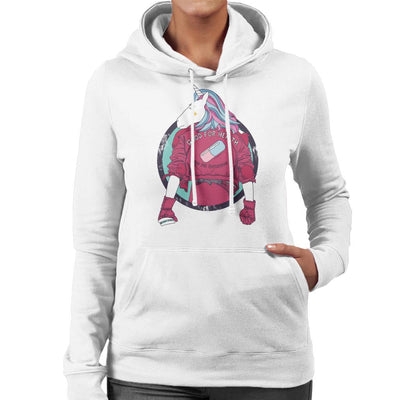 Unicorn Kaneda Akira Women's Hooded Sweatshirt by Jelly89 - Cloud City 7