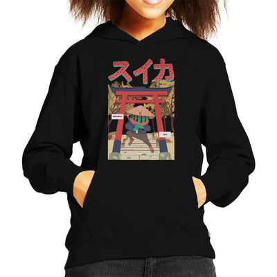 Watermelon Ninja Kid's Hooded Sweatshirt by Jelly89 - Cloud City 7