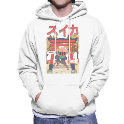Watermelon Ninja Men's Hooded Sweatshirt by Jelly89 - Cloud City 7
