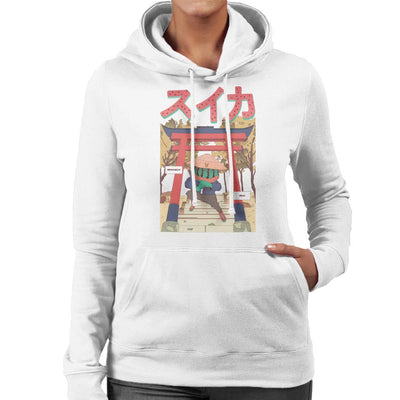Watermelon Ninja Women's Hooded Sweatshirt by Jelly89 - Cloud City 7