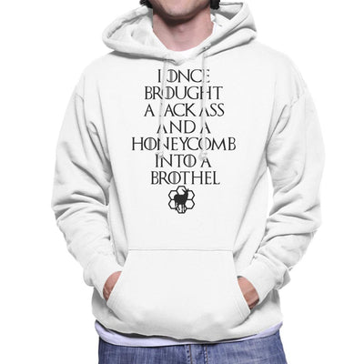 Game Of Thrones Jackass And The Honeycomb Light Men's Hooded Sweatshirt by TopNotchy - Cloud City 7