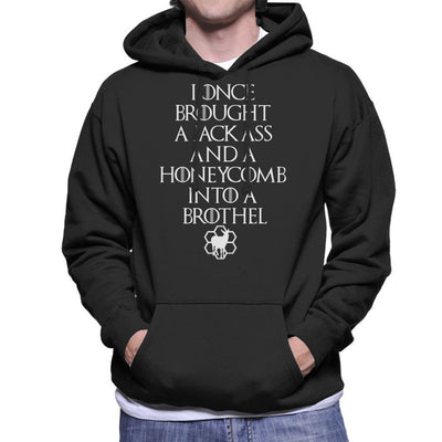 Game Of Thrones Jackass And The Honeycomb Dark Men's Hooded Sweatshirt by TopNotchy - Cloud City 7